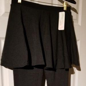 Fur Lined Leggin Skirt (Winter)